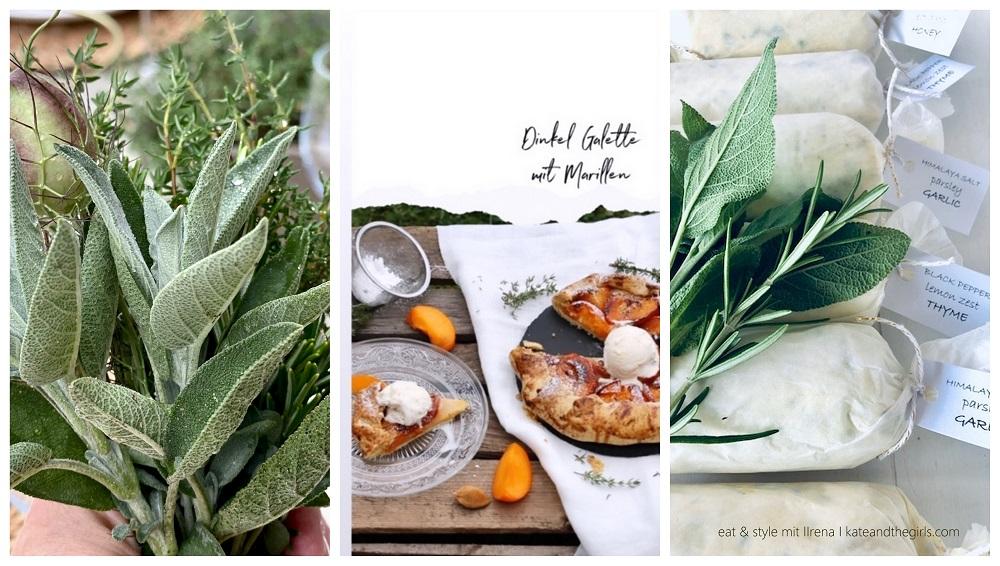 EAT AND STYLE mit Irena: Sommerküche und Dinkel Galette